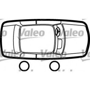 DOOR HANDLE EXTERIOR FIAT PUNTO 99> FRONT/REAR RIGHT