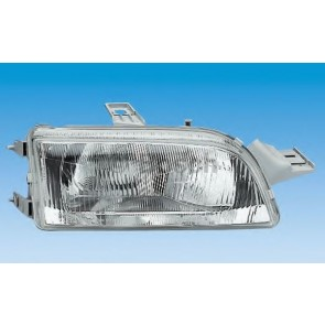 HEADLIGHT FIAT PUNTO 93> H4 RIGHT ELECTRIC ADJUSTMENT
