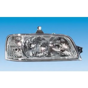 HEADLIGHT FIAT DUCATO 02> H1+H7 LEFT ELECTRIC ADJUSTMENT