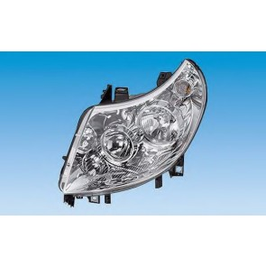 HEADLIGHT FIAT DUCATO 06> H7+H1 LEFT ELECTRIC ADJUSTMENT 11> N.TYP 7-PIN