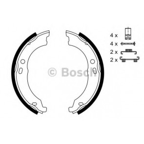 BRAKE SHOES FIAT DUCATO 06> REAR HAND BRAKE