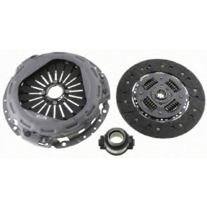 CLUTCH DISC IVECO DAILY 00> WITH BEARING 2.8 TD #265X10#