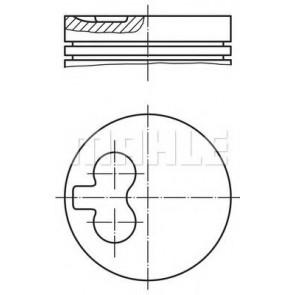 PISTON - FIAT 2.5 D 81-893-2-493.00