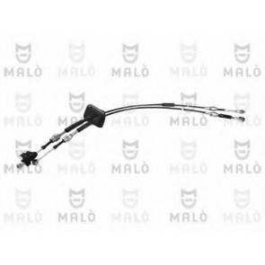 GEARBOX CABLE FIAT 500 07> SET