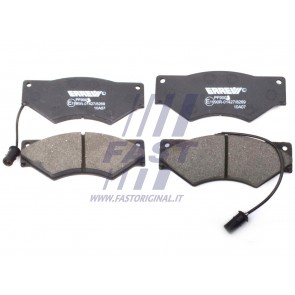 BRAKE PADS IVECO DAILY 90> FRONT 2-SENSORS 59.12