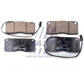 BRAKE PADS IVECO EUROCARGO FRONT/REAR 80/85/100 91>