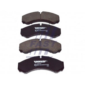 BRAKE PADS IVECO DAILY 00> FRONT WITHOUT SENSOR 29L / 35C / 35S / 40C / 50C