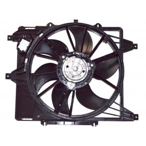 RADIATOR FAN RENAULT MASTER 98> WITH HOUSING 2.5D / KANGOO 97> 1.2