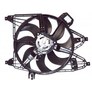 RADIATOR FAN RENAULT KANGOO 98> WITH HOUSING 1.5DCI