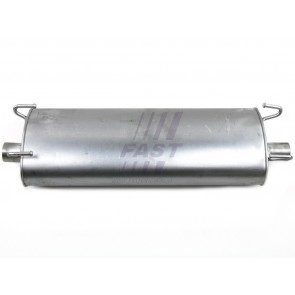 MUFFLER IVECO DAILY 00> REAR 35S11/50C15