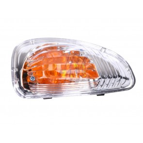 TURN INDICATOR LIGHT RENAULT MASTER 10> MIRROR LEFT WHITE ORANGE INSERT