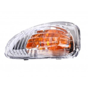 TURN INDICATOR LIGHT RENAULT MASTER 10> MIRROR RIGHT WHITE ORANGE INSERT