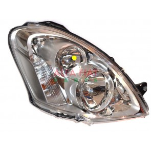 HEADLIGHT IVECO DAILY 06> H7+H1 RIGHT 12>